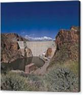 Roosevelt Dam Arizona Canvas Print