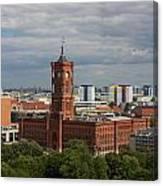 Rotes Rathaus Berlin Canvas Print