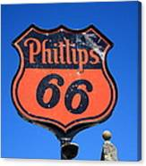 Route 66 - Phillips 66 Petroleum Canvas Print