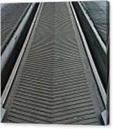 Rubber Industrial Conveyer Canvas Print