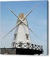 Rye Windmill Canvas Print