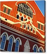 Ryman Auditorium Canvas Print