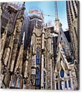 Sagrada Familia - Gaudi Canvas Print