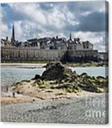 Saint Malo Canvas Print