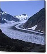 Salmon Glacier Canvas Print