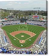San Francisco Giants V Los Angeles Canvas Print
