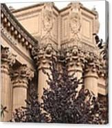 San Francisco - Palace Of Fine Arts Canvas Print