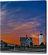 Sandy Neck Lighthouse Canvas Print