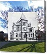 Sayles Hall At Brown University In Providence Rhode Island Canvas Print
