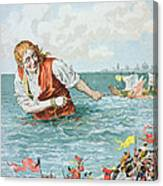 Scene From Gullivers Travels Canvas Print