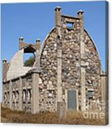 Schott Stone Barn Canvas Print