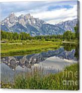Schwabacher Landing - Grand Tetons Canvas Print