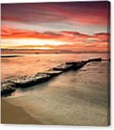 Sea Sunrise Canvas Print