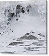 Seafoam Wave Canvas Print