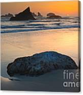 Seastacks, Oregon Coast Canvas Print
