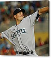 Seattle Mariners V Miami Marlins Canvas Print