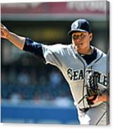 Seattle Mariners V San Diego Padres Canvas Print