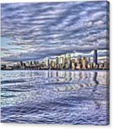 Seattle Skyline Cityscape Canvas Print