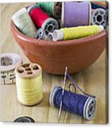 Sewing Supplies Canvas Print