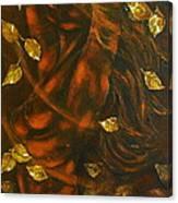 She...autumn Canvas Print