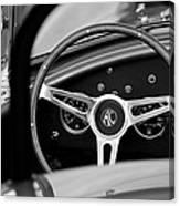 Shelby Ac Cobra Steering Wheel Canvas Print