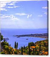Sicily View Canvas Print