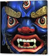 Sikkim Dance Mask, India Canvas Print