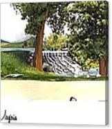Silver Lake Mill -summer Canvas Print