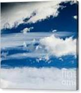 Sky With Clouds Canvas Print