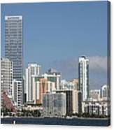 Skyline Miami Canvas Print