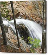 Smalls Falls In Western Maine Canvas Print