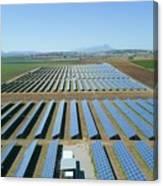 Solar Array Canvas Print