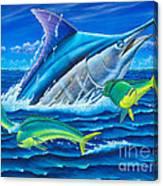 South Side Blue Canvas Print