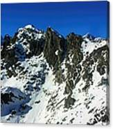 Southern Alps New Zealand Canvas Print