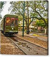 St. Charles Streetcar Canvas Print