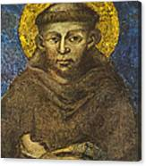 St Francis Canvas Print