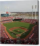 St. Louis Cardinals Vs. Cincinnati Reds Canvas Print