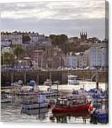 St Peter Port - Guernsey Canvas Print