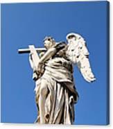 Statue In Vatican City Canvas Print