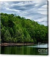 Stonewall Jackson Lake Wildlife Management Area Canvas Print
