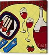 Strawberry Wine Canvas Print