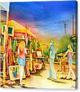 Street Art Fair Canvas Print