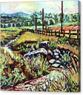 Stroubles Creek Canvas Print