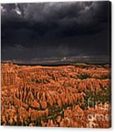 Summer Thunderstorm Bryce Canyon National Park Utah Canvas Print