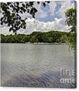 Summer Time At Moraine View State Park Canvas Print