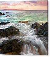 Sunrise Surge Canvas Print