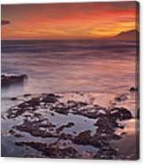 Sunset In Marbella Canvas Print