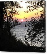 Sunset In Samothraki Canvas Print