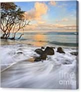 Sunset Tides Canvas Print