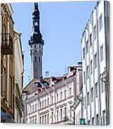 Tallin Estonia Canvas Print